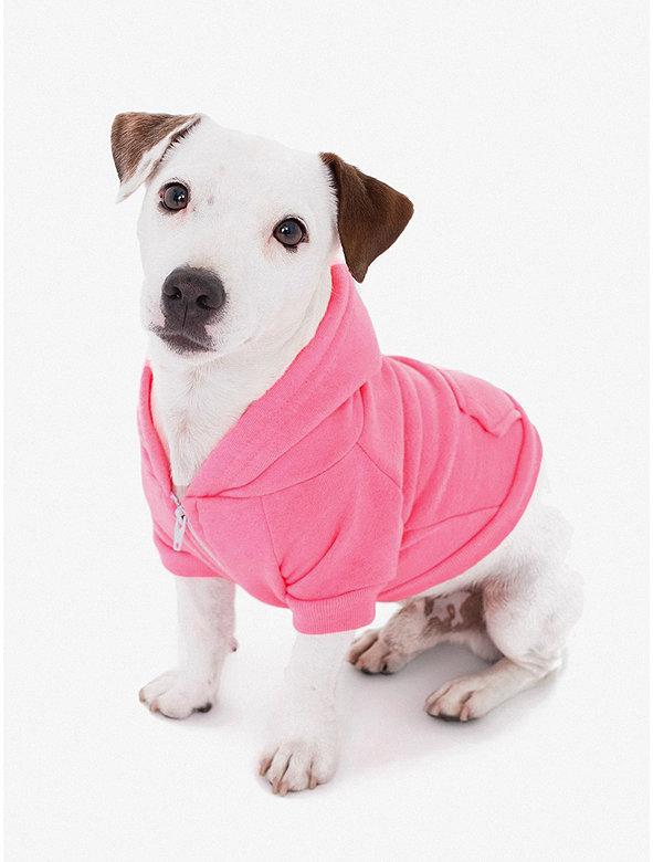 Flex Fleece Small Dog Zip Hoodie