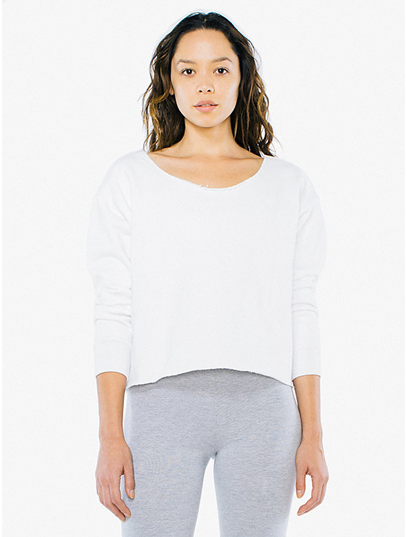 Heavy Terry Cropped Sweatshirt