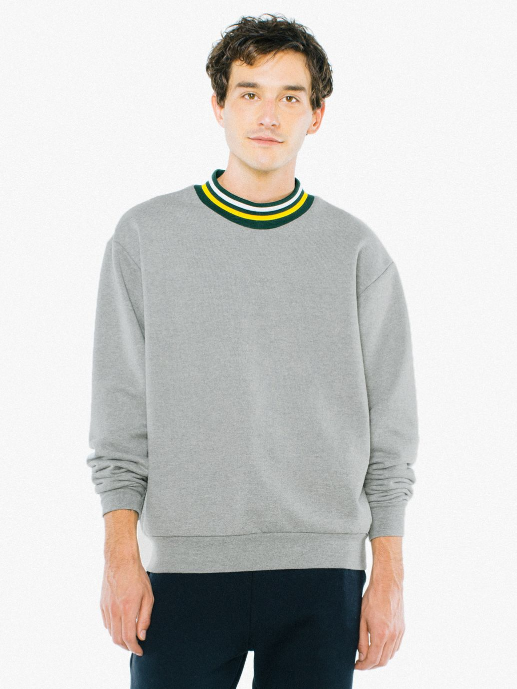 Heavy Terry Sport Mockneck by American Apparel