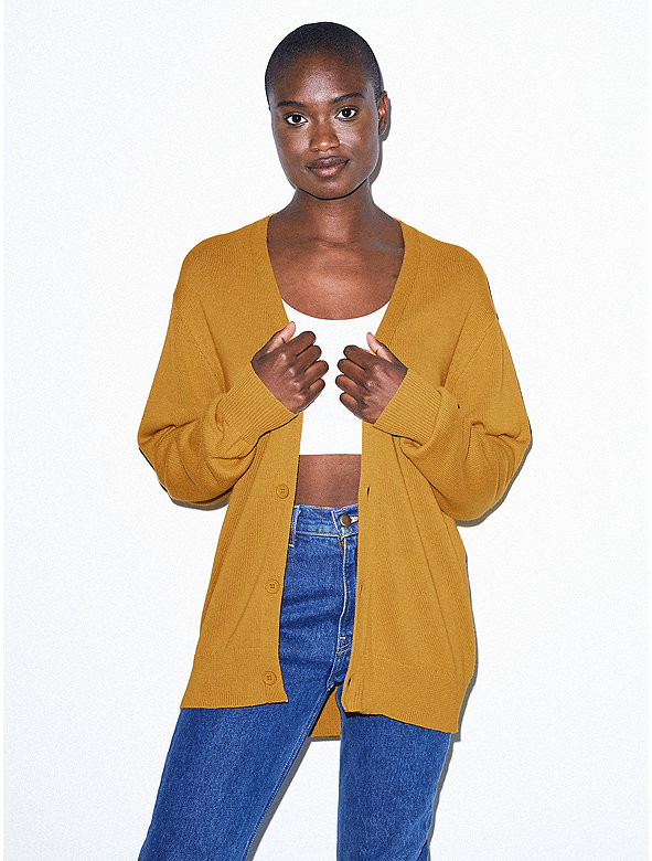 Unisex Basic Knit Cardigan