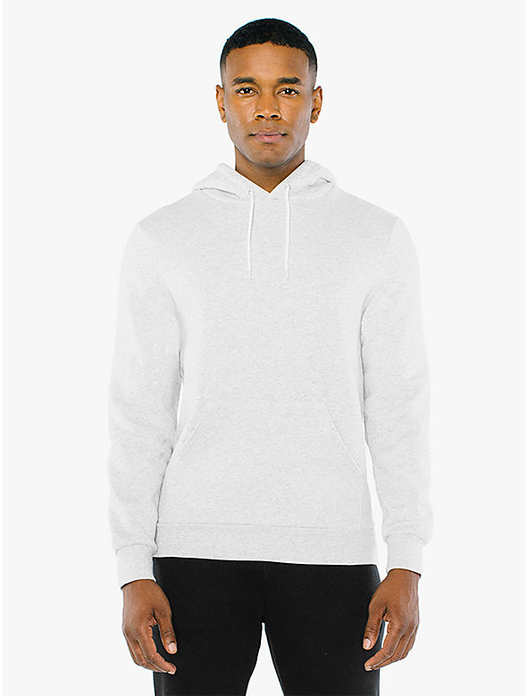 Peppered Fleece Pullover Hoodie