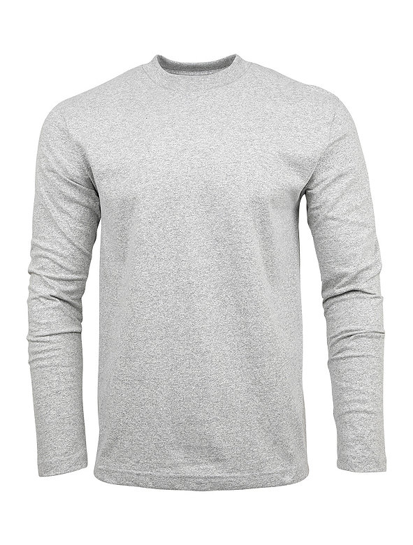 Army Jersey Long Sleeve Mockneck T-Shirt