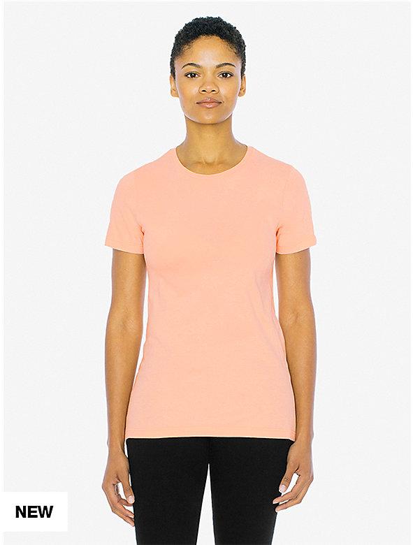 ba09384f299800 Fine Jersey Classic Crewneck T-Shirt