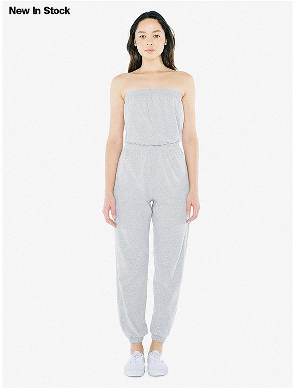 aa30218e5d Fine Jersey Strapless Jumpsuit