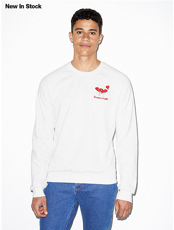 California Fleece Embroidered Raglan