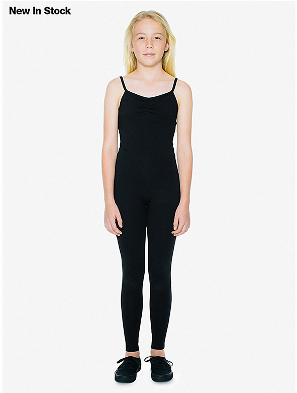 Cotton Spandex Youth Unitard
