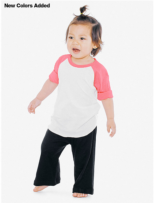 Infant 3/4 Sleeve Raglan