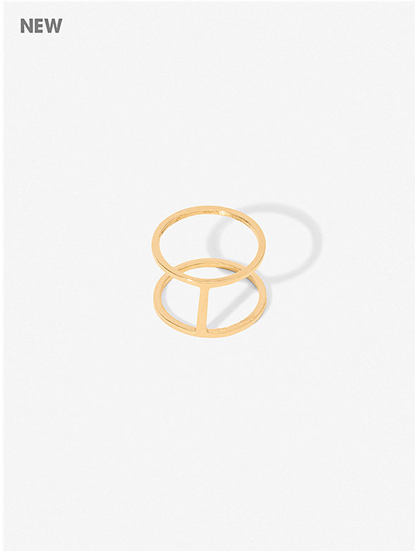 Beam Two-Fer Ring