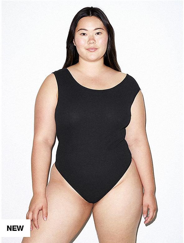 9b9fb67e81df Cotton 2x2 Asymmetrical Bodysuit