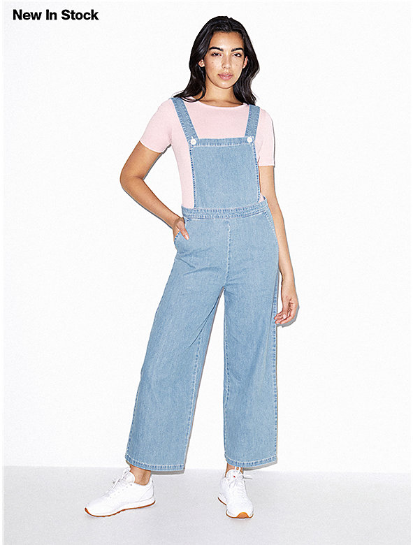 d23da51e8fe Denim Pinafore Jumpsuit