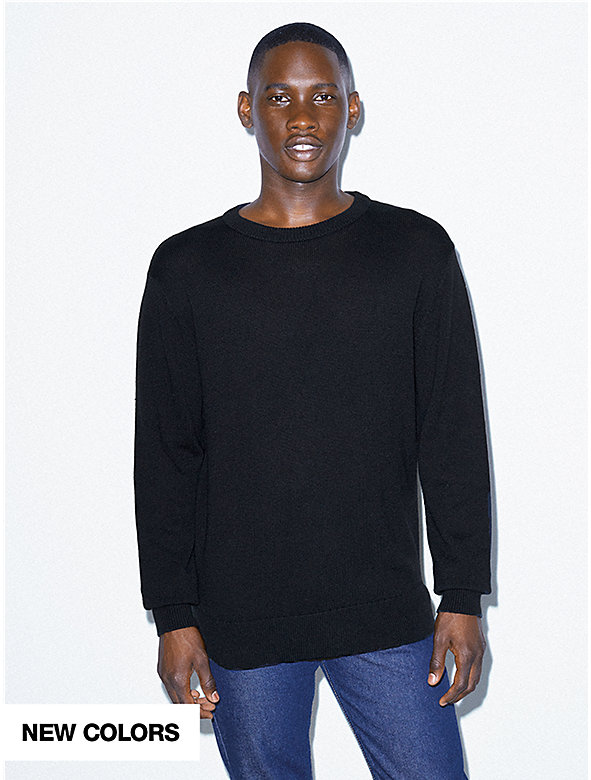 Basic Knit Crewneck