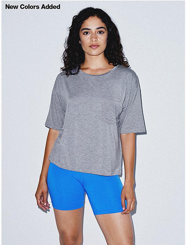 Mix Modal Pocket T-Shirt