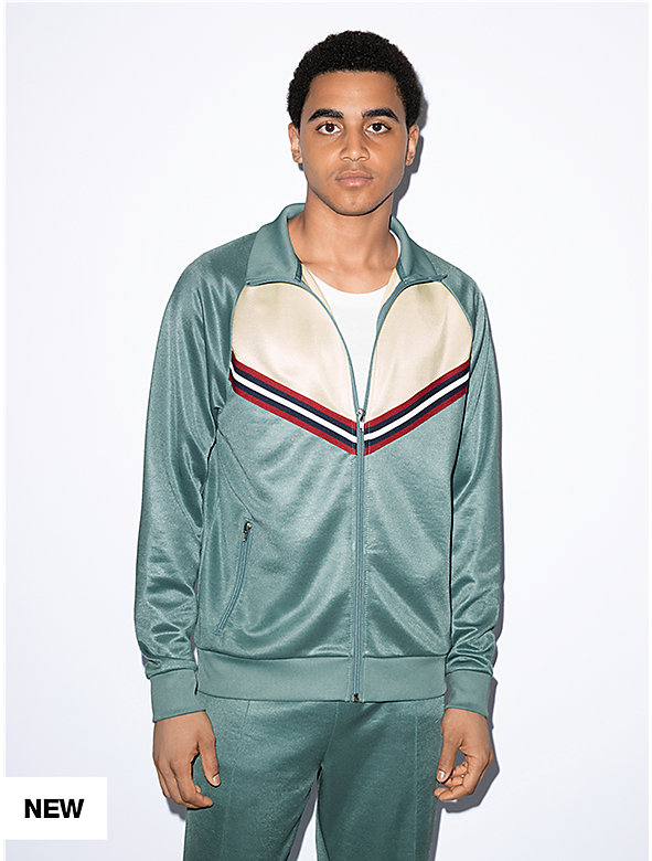 Track Zip Up Jacket