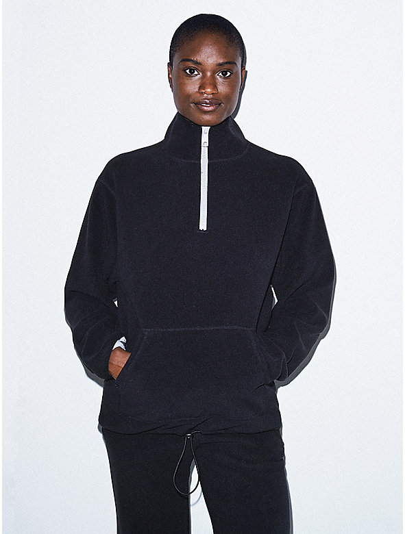 Unisex Polar Fleece Quarter Zip