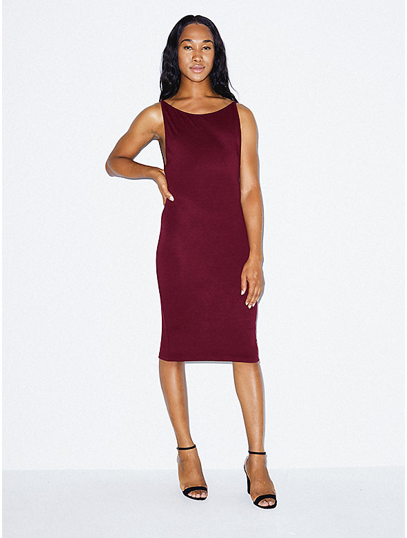 Ponte Deep Cut Dress