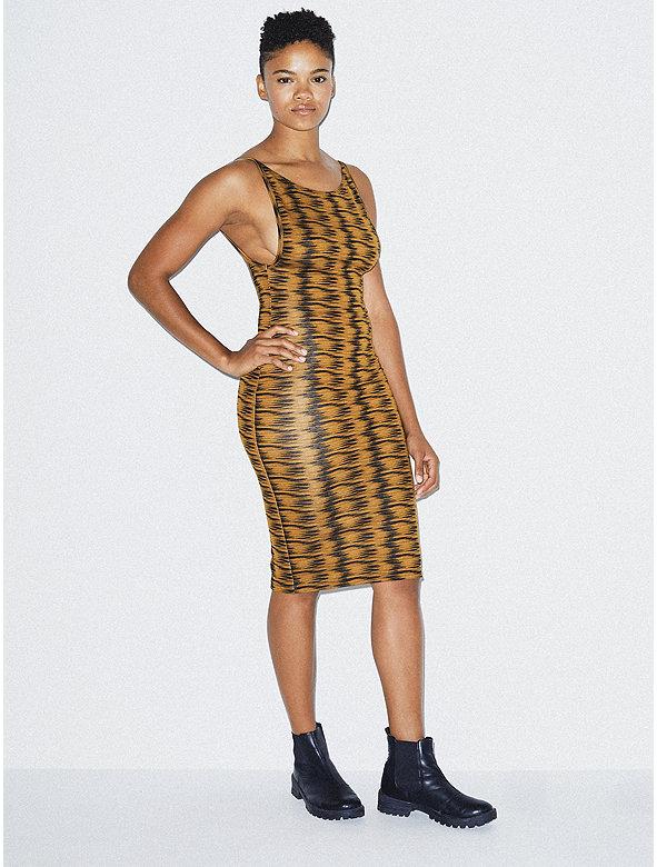 Ponte Deep Cut Dress