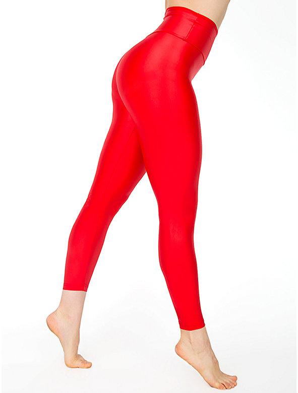Nylon Tricot High Waist Legging