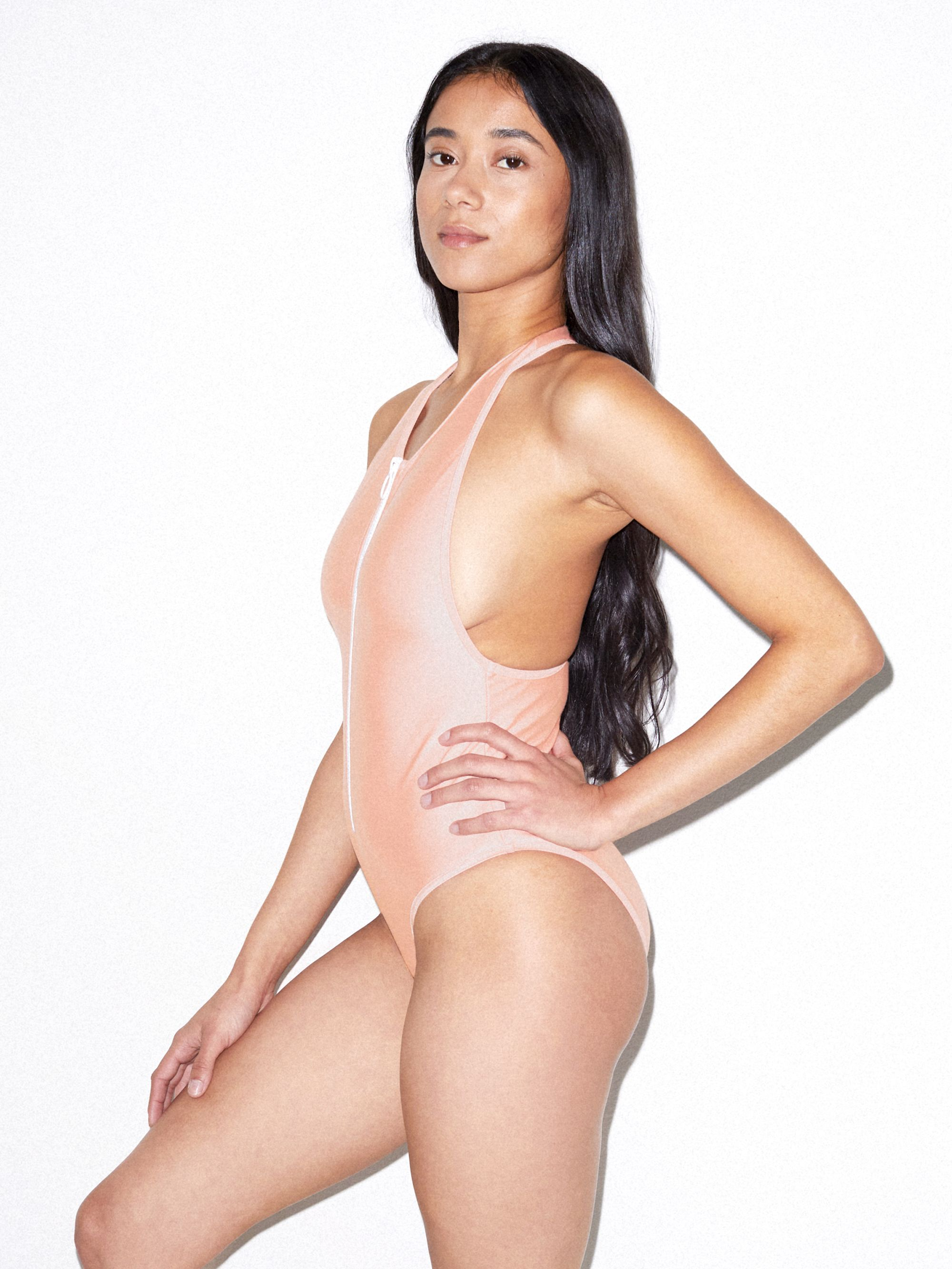 2252241467 Nylon Tricot Zip Up One Piece. rnt3549w. $48.00. Product Gallery Element.  Product Gallery Element
