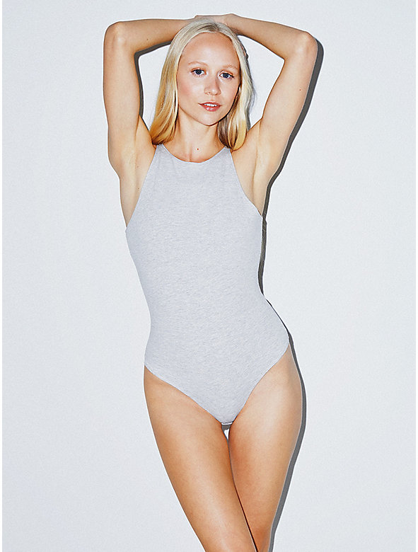 Cotton Spandex Sleeveless Bodysuit