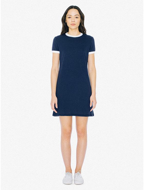 50/50 Ringer T-Shirt Dress