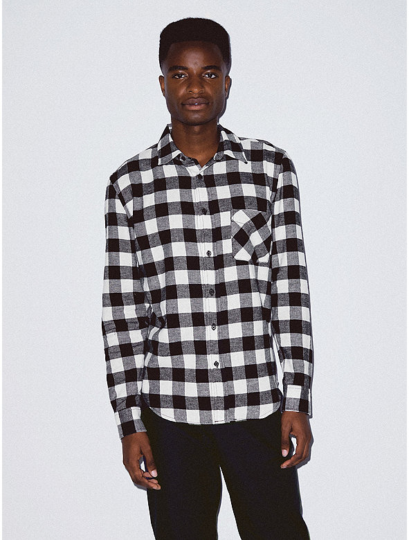 a9f13e7d98d0 Flannel Lumberjack Shirt | American Apparel