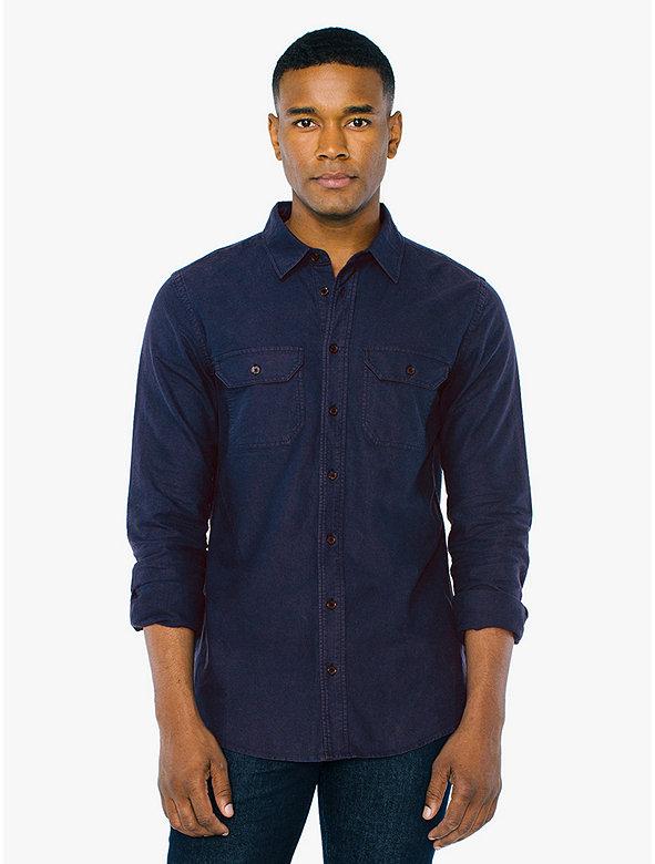 198e7a181769 The Work Shirt | American Apparel