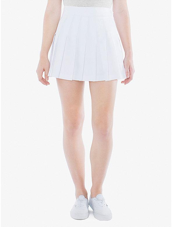 Gabardine Tennis Skirt