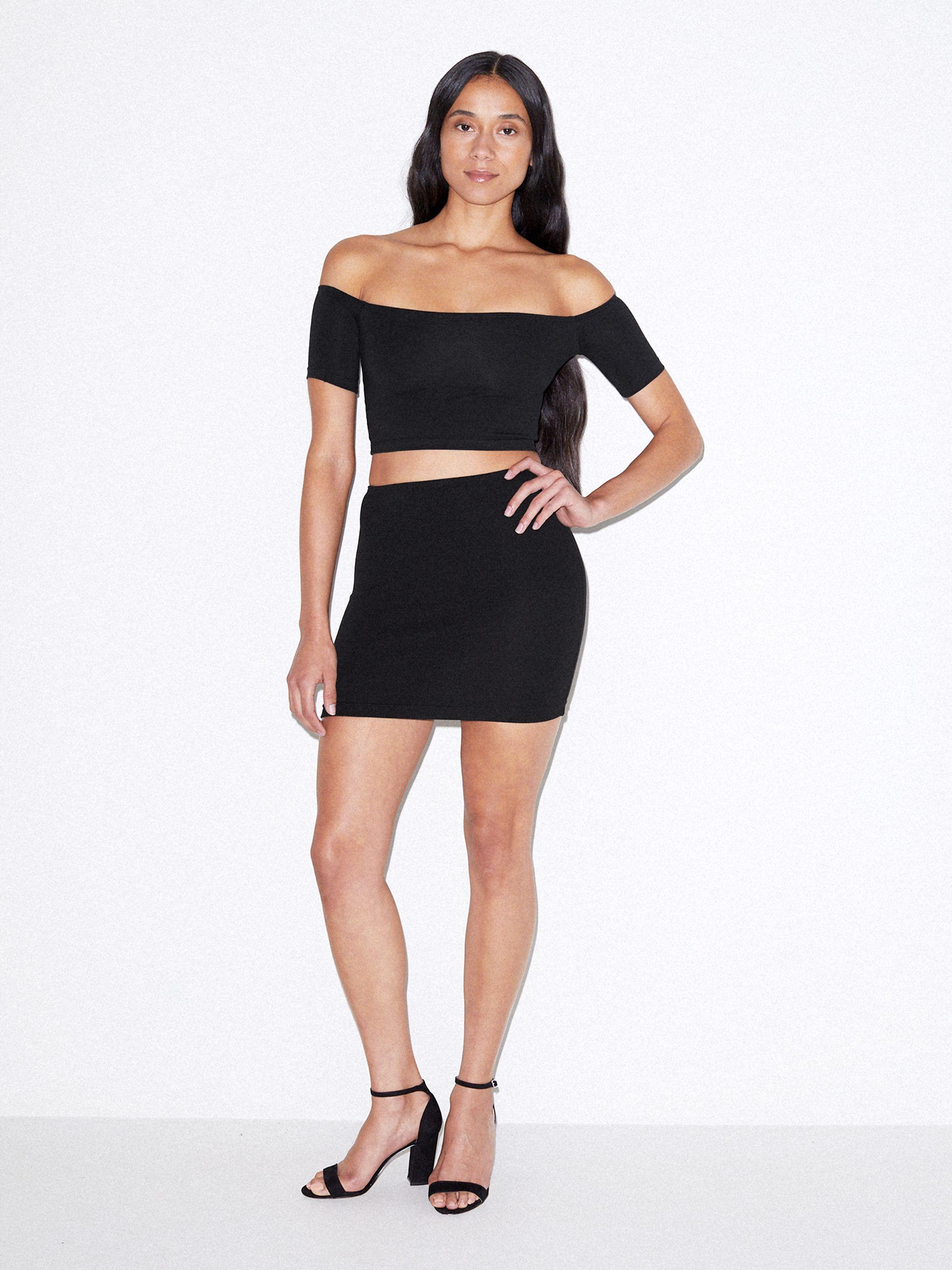 aaa176349ad2 Ponte Mini Skirt   American Apparel