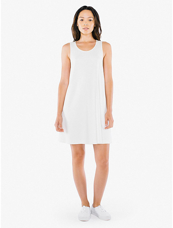 Ponte A-Line Racerback Mini Dress