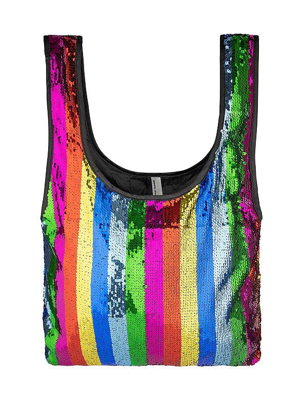 Sequin Shopping Bag