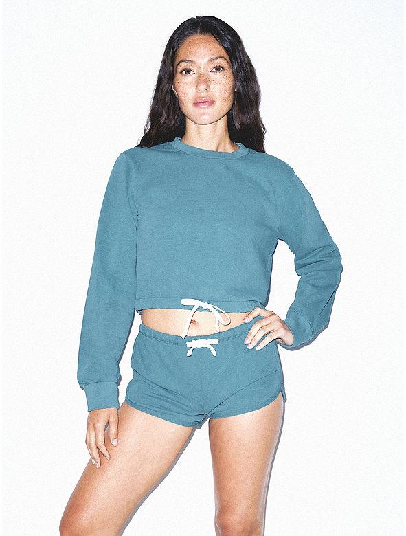 French Terry Cord Sweatshirt