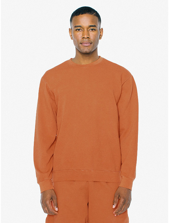 French Terry Crewneck Pullover