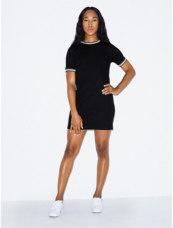 Thick Rib Rib Crewneck Dress 60b7c0deb