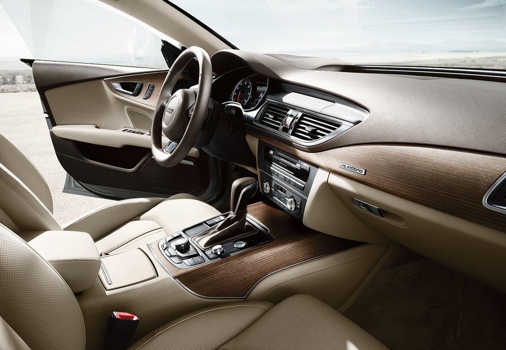 New Audi A7 Interior main image