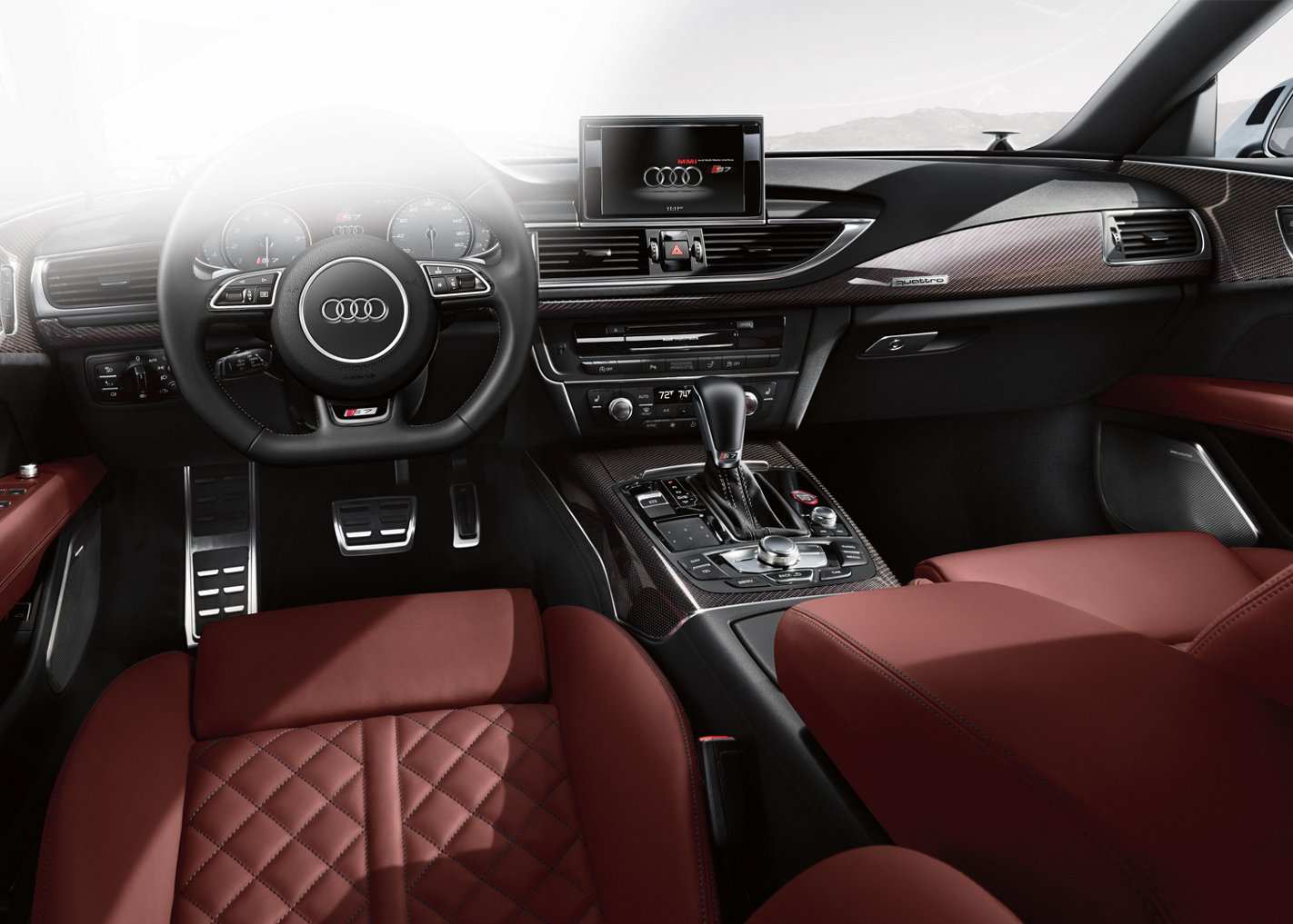 New Audi S7 Interior main image