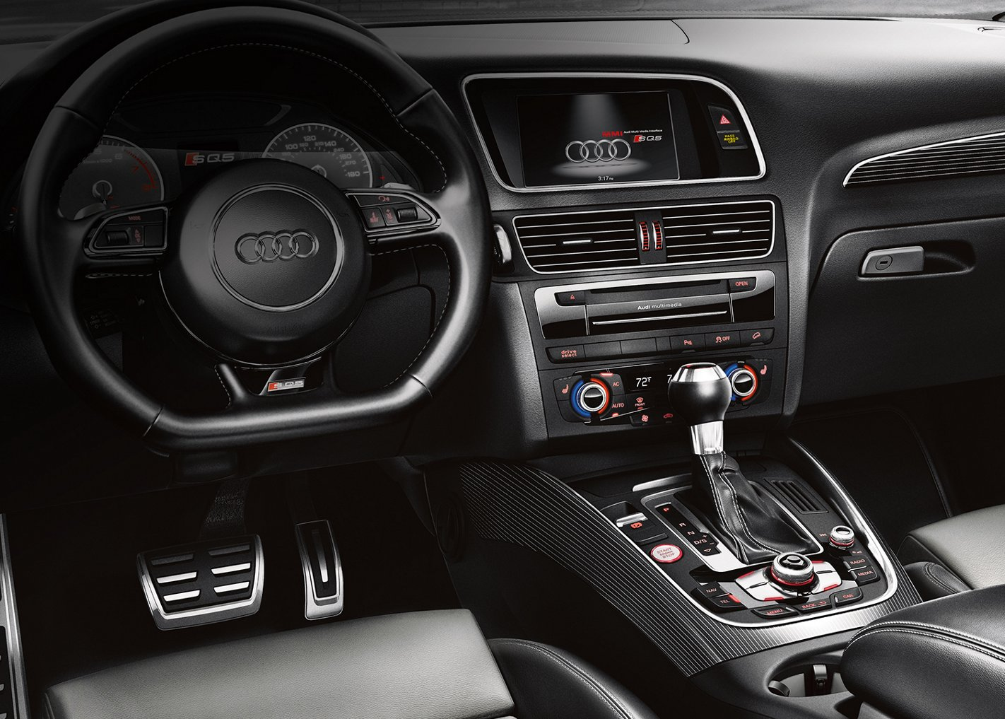 New Audi SQ5 Interior main image