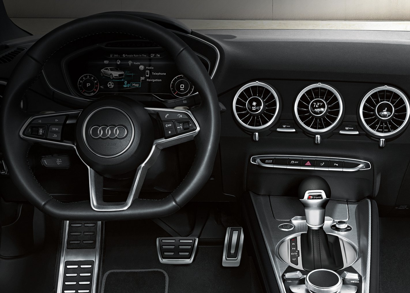 New Audi TT Interior main image
