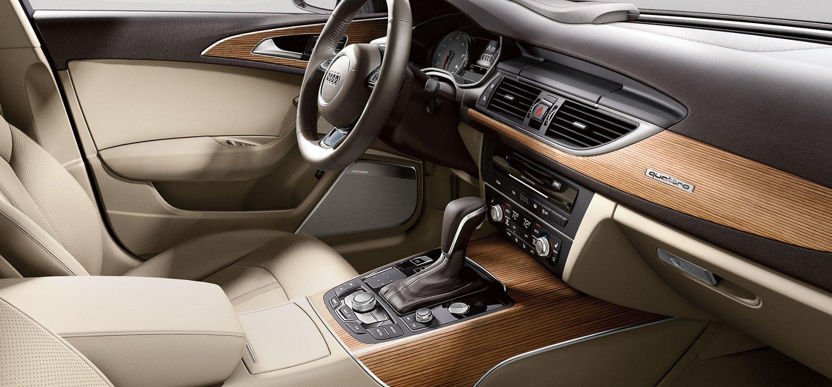 New Audi A6 Interior main image