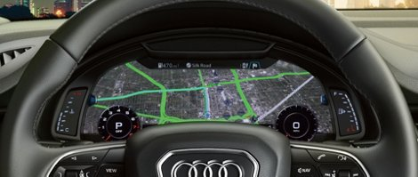 Drivers Have Even More Ways To View And Customize Information With The Available Audi Virtual Pit Featuring Google Earth Map Integration