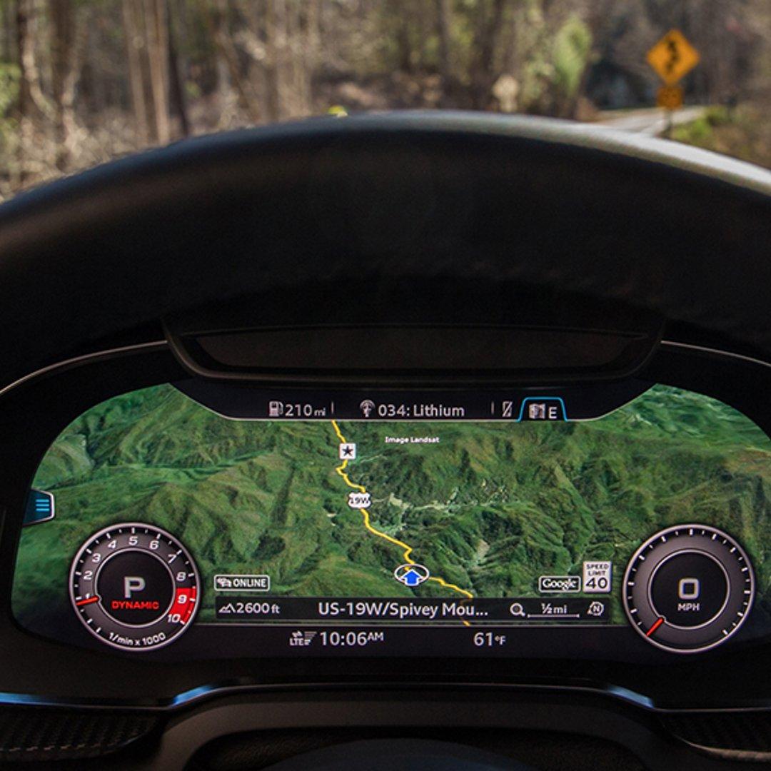 2018 Audi R8 Coupe Technology Audi Usa