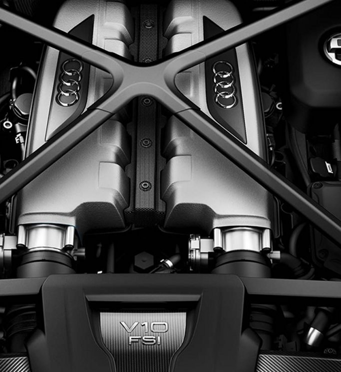 Audi R Coupe Performance Audi USA - Audi r8 engine