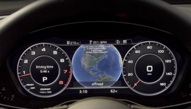 The Available Audi Virtual Pit Is A 12 3 Inch Lcd Fully Digital Display That Customizes Information Such As Navigation Audio And Phone