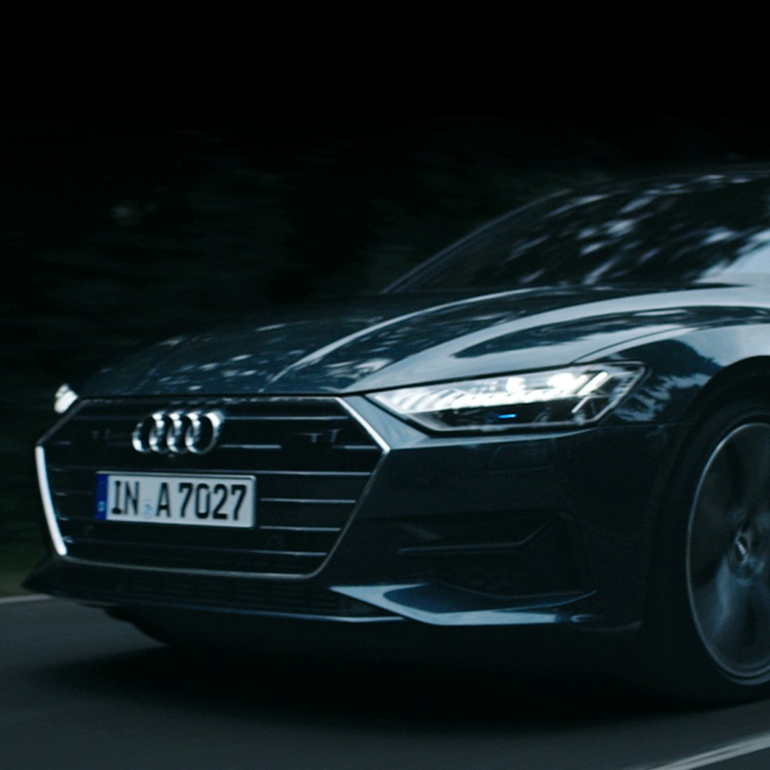 2019 Audi A7 Ambient Lighting