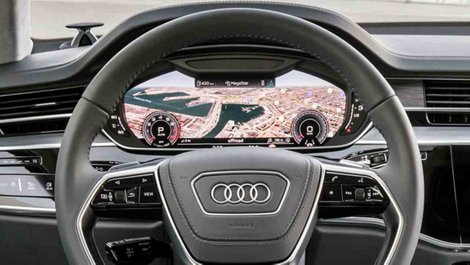 2019 a8 redefining luxury driver assistance and technology and utilizing two touchscreens with haptic and acoustic feedback as well as gesture controls the revolutionary audi mmi touch response is a modern sciox Image collections