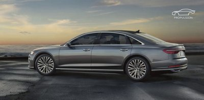Pictures of the audi a8