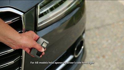 Audi A C How To Program HomeLink Audiworld - Audi homelink