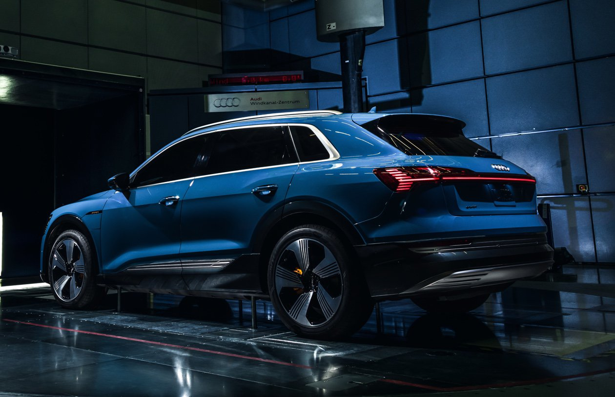 Audi Etron The First Purely Electric SUV From Audi Audi USA - Audi e car