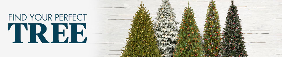 Artificial Christmas Trees | Pre Lit Christmas Trees - Bed Bath ...