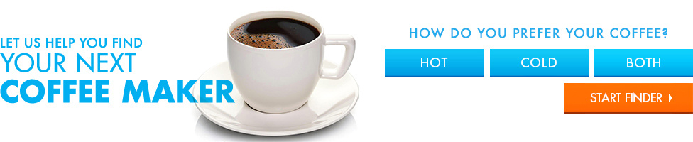 Let Us Help You Find Your Next Coffee Maker