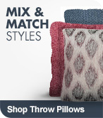 Shop Mix & Match Throw Pillows